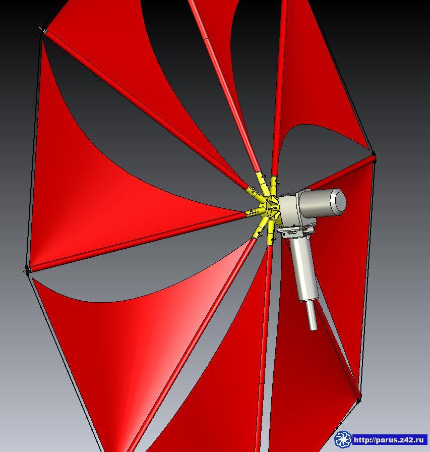 Ветряк с автомобильным генератором своими руками